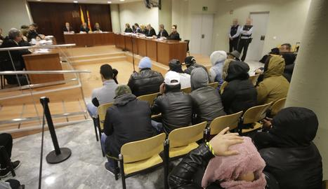 Una imatge del judici a Lleida
