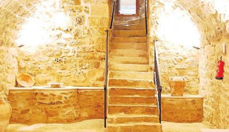 Imatge interior de la Casa Ferrabrás de Torrent de Cinca.