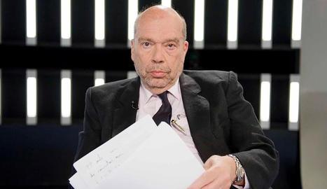 Imatge d'Alfons Quintà en un programa de Televisió Espanyola l'any passat.
