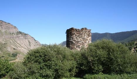 Imatge d'arxiu de la Torre dels Moros d'Espot.