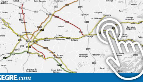 La C-28 a Vielha i la C-14 a Ponts tenen els trams amb més risc d'accident a Lleida