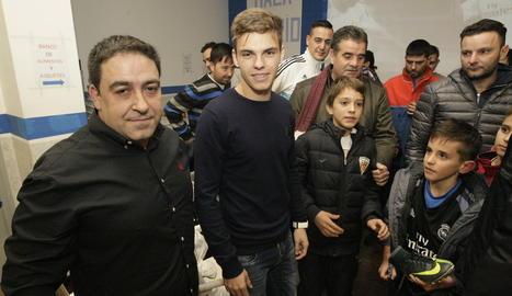La Penya Madridista de Lleida nomena soci d'honor Aleix Febas