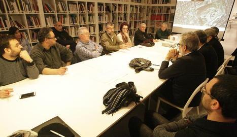 La Panera va acollir ahir el taller participatiu sobre els nous usos de la pista limítrofa.