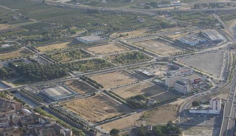 L'establiment estarà situat darrere dels hotels del grup Ibis, a la dreta, en aquesta zona de Copa d'Or.