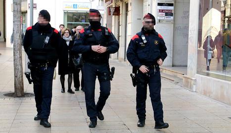 Patrulles armades per les zones comercials de Lleida
