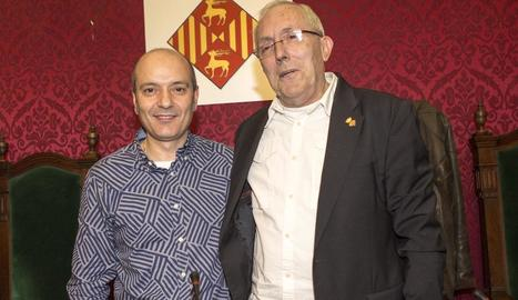 Joan Prat i Jaume Carcasona.