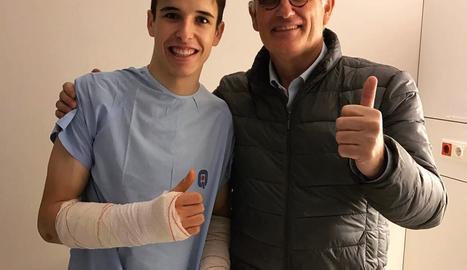 Àlex Màrquez, operat dels avantbraços