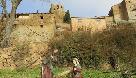 Una imatge nadalenca, al Pallars Jussà