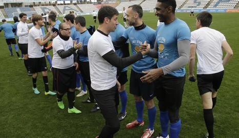 Futbol inclusiu al Camp d'Esports