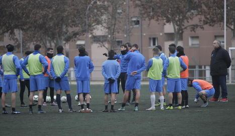 Foto de Marc Resa que el club va penjar ahir a Twitter.