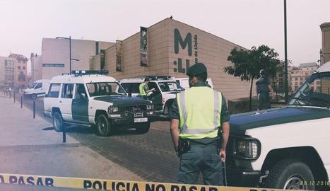 La innocentada amb guàrdies civils al Museu de Lleida
