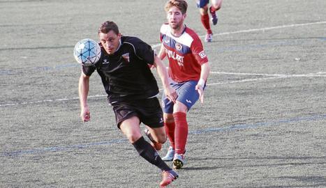 Yeray Darias, a la dreta, durant un partit d'aquesta temporada.