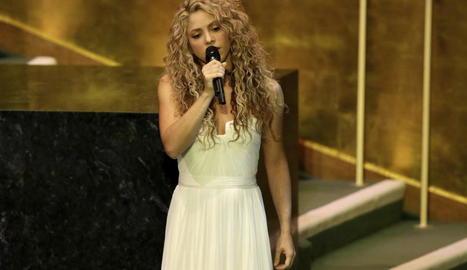 Imatge d'arxiu de la cantant colombiana Shakira.