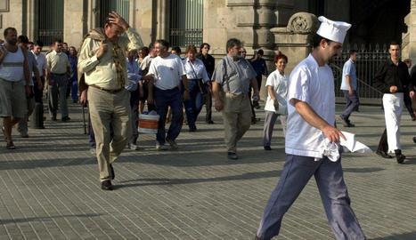 Falsa alarma al WTC de Barcelona