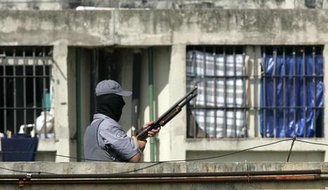 Imatge d'arxiu d'un centre penitenciari al Brasil.