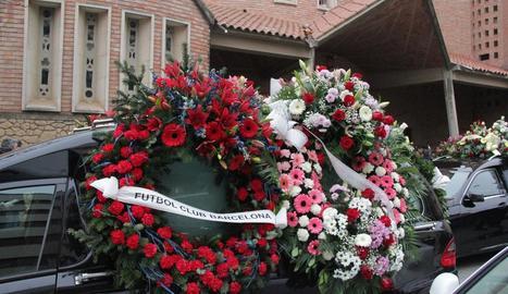 L'església del Sagrat Cor de Balaguer es va quedar petita per acomiadar Yeray Darias Rodríguez.