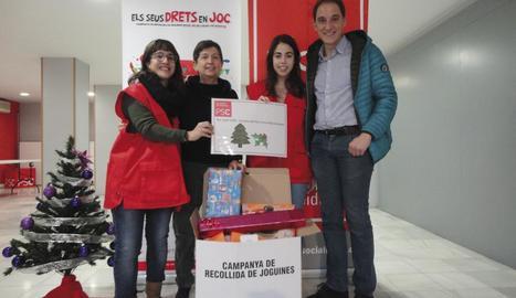 El PSC de Lleida col·labora amb Creu Roja