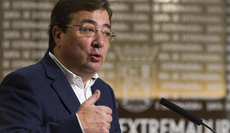 El president d'Extremadura, Guillermo Fernández Vara.