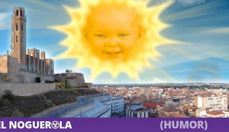 Un milió de lleidatans bufen alhora i surt el sol després de 30 dies