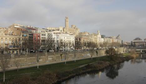 Sol aquest dijous a la ciutat de Lleida.