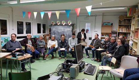 La reunió es va fer a l'escola del nucli de Freixinet.