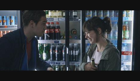 Laia Costa, en una seqüència de la pel·lícula 'Victoria' per la interpretació de la qual està nominada.