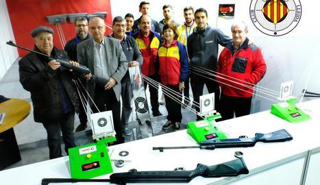 El Club Tir Olímpic sorteja una carrabina