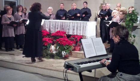 Concert de la coral Clamor de Soses dirigit per Iolanda Dolcet.
