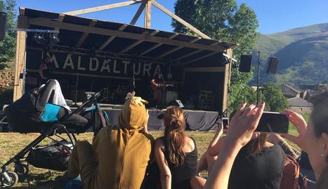 Imatge del festival Maldaltura del qual es parla a 'Cultures'.