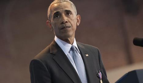 El president dels Estats Units, Barack Obama.