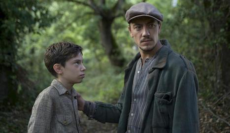 Francesc Colomer i Roger Casamajor, actors de 'Pa negre'.