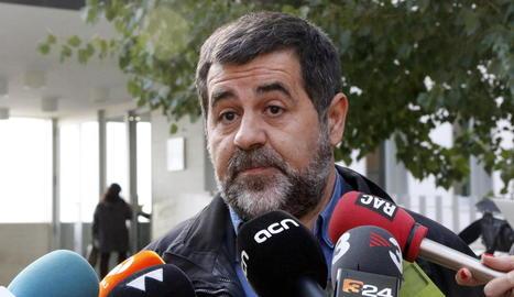 El president de l'ANC, Jordi Sànchez, en una imatge d'arxiu.