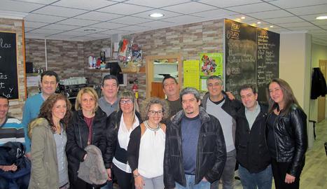 L'última trobada del grup, amb motiu de les festes Nadalenques.