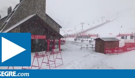 Imatges de la nevada