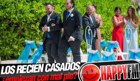 La boda de Jesús i Jesús a Antena 3.