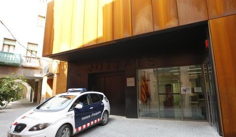 Imatge d'arxiu del jutjat de Balaguer.