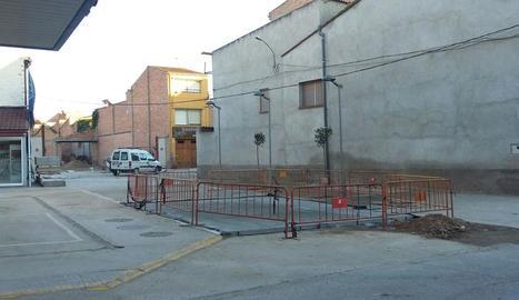 Els operaris finalitzaran aquest mes les obres d'urbanització.
