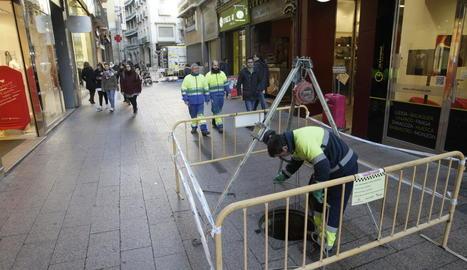 Millores a la xarxa de clavegueram del carrer Major sense obrir rases