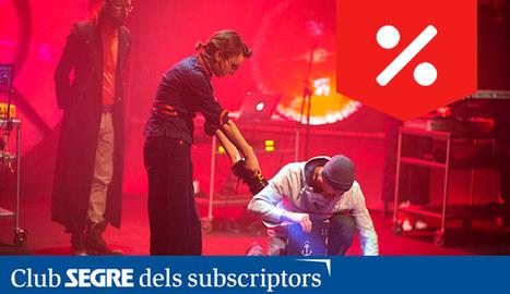 Fotografia de l'espectacle 'Bitàcola. Un quadern musical'