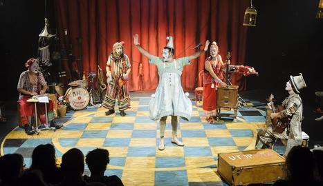 Un espectacle de clown distingit amb el Premi Zirkòlika 2016.