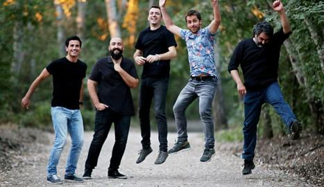 Imatge promocional del nou grup lleidatà EnZel.