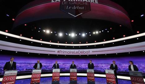 Imatge dels candidats de les primàries socialistes gal·les.