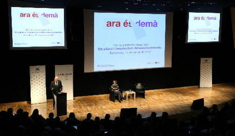 El primer d'aquest cicle de debats va tenir lloc ahir a Barcelona.