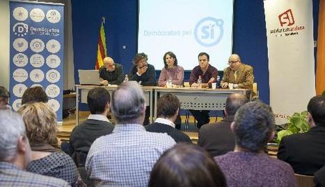 L'acte celebrat ahir a la biblioteca comarcal de Tàrrega.