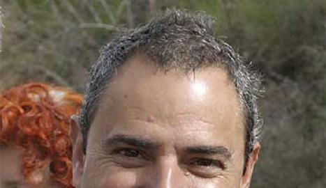 Miguel Grima, alcalde de Fago el 2007, i el condemnat pel seu assassinat, Santiago Mainar.