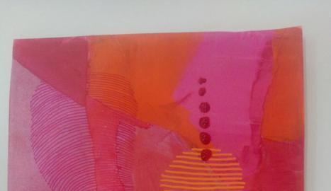 Pintura sobres seda.