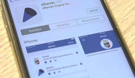 La nova aplicació per traslladar la informació local.