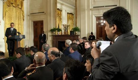 Barack Obama, el president sortint dels EUA, en una roda de premsa a la Casa Blanca.