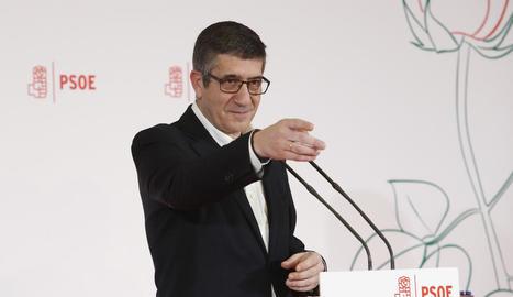L'exlehendakari Patxi López va anunciar el cap de setmana la seua candidatura a les primàries del PSOE.
