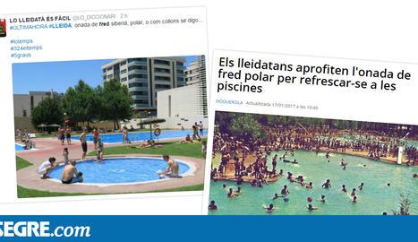 La xarxa, sobre l'onada de fred al pla de Lleida
